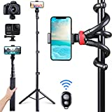 Phone Tripod 62'', Anwas Selfie Tripod for iPhone & Android Phone
