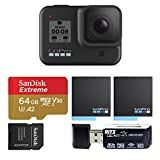 GoPro HERO8 Black Waterproof Action Camera with Touch Screen 4K Ultra HD Video 12MP Photos 1080p...