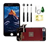 PassionTR Black for iPhone 8 Plus 5.5 Inch LCD Screen Replacement Full Digitizer Assembly Frame Set...