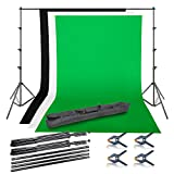 Emart Photo Video Studio Background Backdrop Stand Kit, 8.5x10ft Photography Support System with 3...