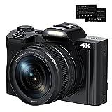 IEBRT Digital Camera 4K Video Camera Camcorder 16X 48MP Digital Zoom WiFi YouTube Vlogging Camera...