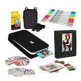 Kodak Smile Instant Digital Printer (Black/White) Photo Frames Bundle