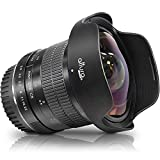 Altura Photo 8mm f/3.0 Professional Ultra Wide Angle Aspherical Fisheye Lens for Canon EOS 90D 80D...