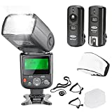 Neewer NW-670 TTL Flash Speedlite with LCD Display Kit for Canon DSLR Cameras,Includes:(1)NW-670...