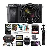 Sony a6400 Mirrorless Digital Camera Bundles (w/ 18-135mm)