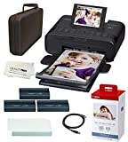 Canon SELPHY CP1300 Wireless Compact Photo Printer with AirPrint and Mopria Device Printing, with...