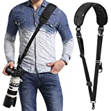 waka Rapid Camera Neck Strap with Quick Release and Safety Tether, Adjustable Camera Shoulder Sling...