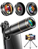 CoPedvic Phone Camera Lens Phone Lens for iPhone Samsung Pixel One Plus Huawei, 22X Telephoto Lens,...