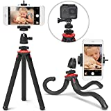 Xenvo SquidGrip Flexible Cell Phone Tripod and Portable Action Camera Holder - Compatible with...