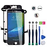 for iPhone 8 Plus Screen Replacement, LCD Display Touch Digitizer Full Assembly Kit with Front...