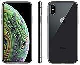 Apple iPhone XS, 64GB, Space Gray - Fully Unlocked (Renewed)