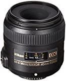 Nikon AF-S DX Micro-NIKKOR 40mm f/2.8G Close-up Lens for Nikon DSLR Cameras