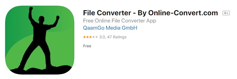 Image convert by onlineconvert.com on App Store