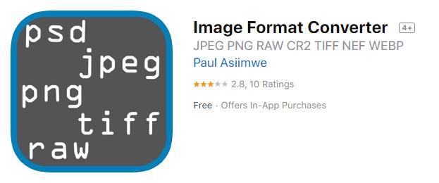 Image Format Converter on App Store