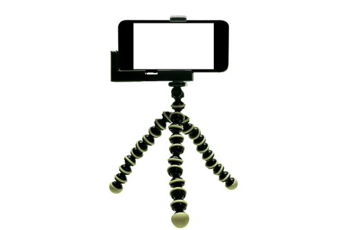 Octopus Tripod with iphone selfie