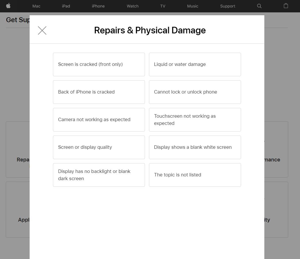 Repairs & Physical Damage
