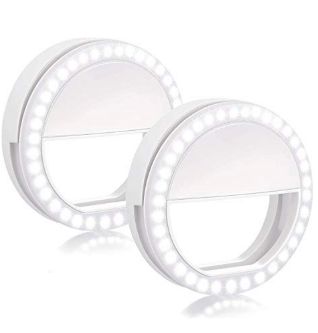 Two BOIROS Selfie Ring Lights