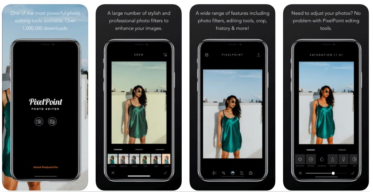 PixelPoint app - fixing blurry iPhone photos