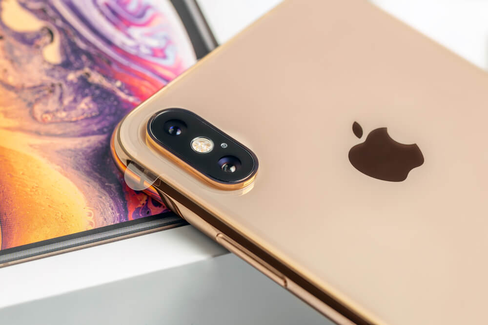 rose gold iPhone with dual cameras - depth in iPhone