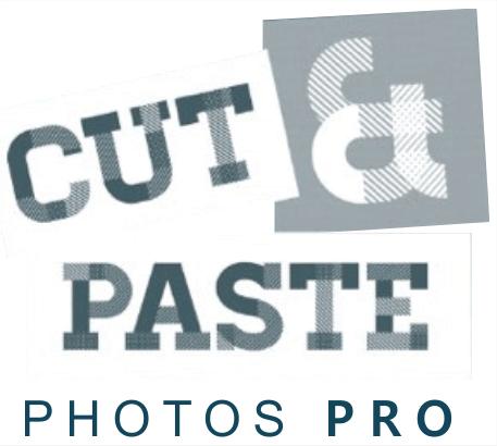 cut & paste photos pro logo