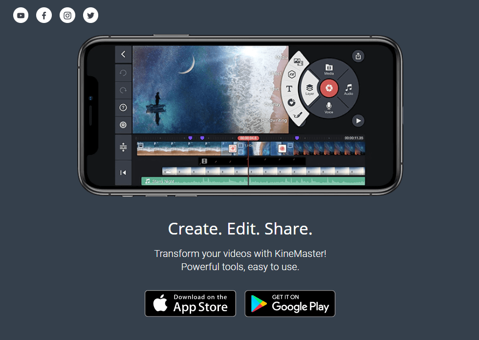 KineMaster - video editing apps